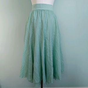 Lapis | flared skirt